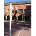 Juego de Postes de Voleibol